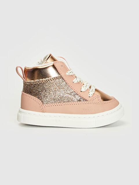 Kız Bebek Bağcıklı Ayakkabı - LC WAIKIKI