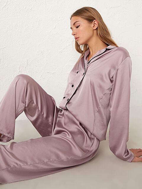 Saten Pijama Takımı - LC WAIKIKI