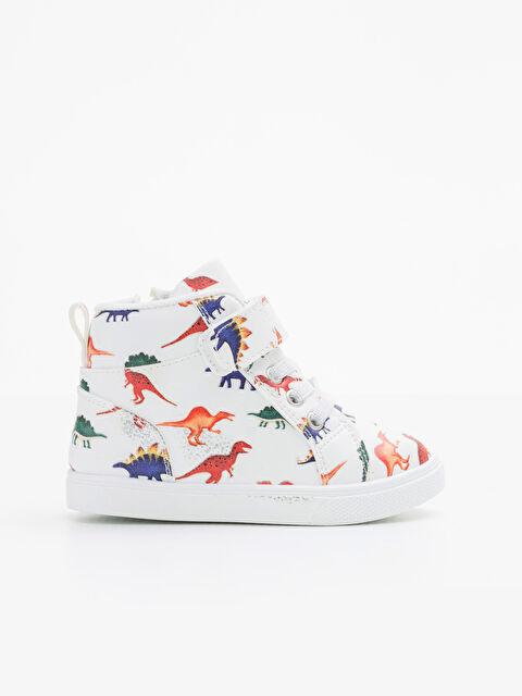 Erkek Bebek Baskılı Sneaker Ayakkabı - LC WAIKIKI
