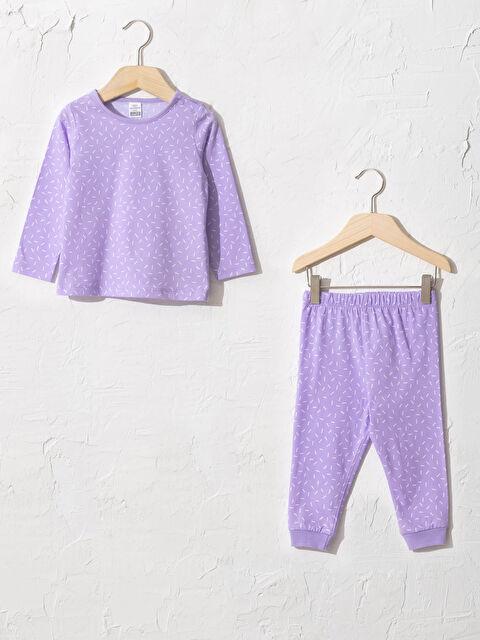 Kız Bebek Pamuklu Pijama Takımı - LC WAIKIKI