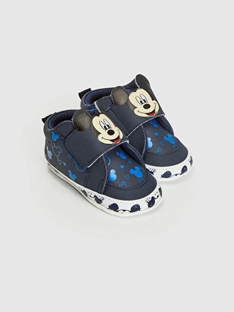 Erkek Bebek Mickey Mouse Lisanslı Yürüme Öncesi Ayakkabı - LC WAIKIKI