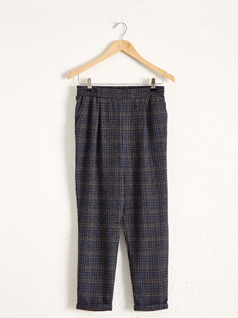 Beli Lastikli Bilek Boy Ekose Pantolon - LC WAIKIKI