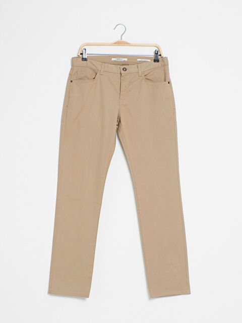 Slim Fit Gabardin Chino Pantolon - LC WAIKIKI