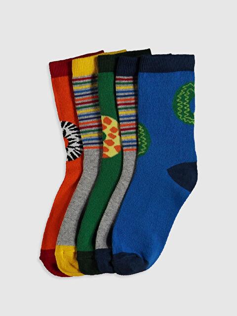 Erkek Çocuk Organik Pamuklu Soket Çorap - LC WAIKIKI