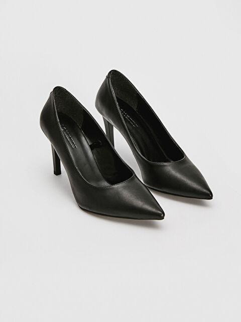 Women's Leather Look Stiletto Shoes - LC WAIKIKI