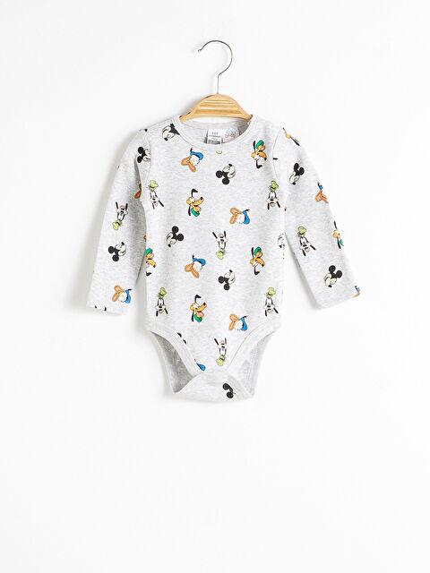 Erkek Bebek Disney Baskılı Çıtçıtlı Body - LC WAIKIKI