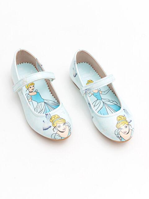 Kız Çocuk Prenses Lisanslı Babet Ayakkabı - LC WAIKIKI