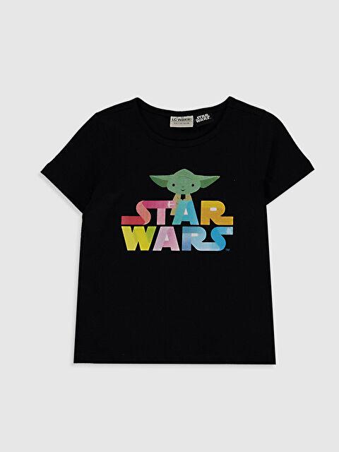 Kız Çocuk Star Wars Baskılı Tişört - LC WAIKIKI