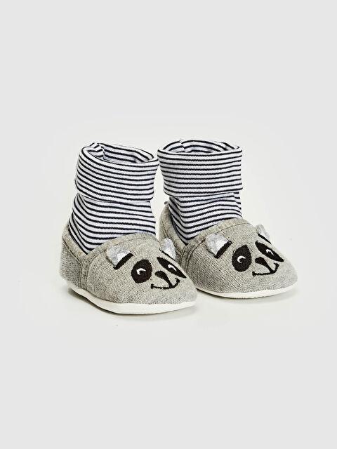 Erkek Bebek Yürüme Öncesi Çoraplı Ev Ayakkabısı - LC WAIKIKI