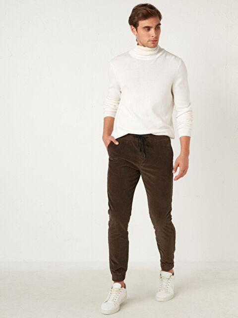 Slim Fit Kadife Pantolon - LC WAIKIKI