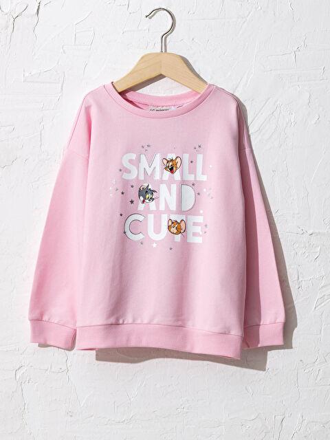 Kız Çocuk Tom ve Jerry Baskılı Sweatshirt - LC WAIKIKI