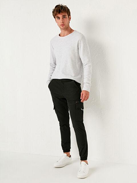 Slim Fit Gabardin Jogger Pantolon - LC WAIKIKI