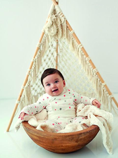 Kız Bebek Organik Çıtçıtlı Body 2'li - LC WAIKIKI