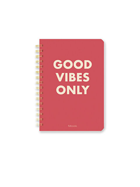 Fabooks Good Vibes Only Defter - Markalar