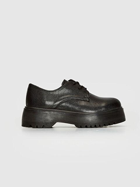 Kadın Bağcıklı Oxford Ayakkabı - LC WAIKIKI