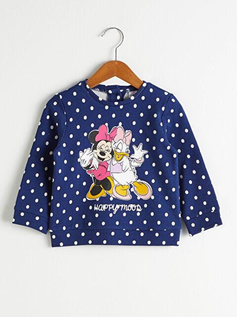 Kız Bebek Disney Baskılı Sweatshirt - LC WAIKIKI