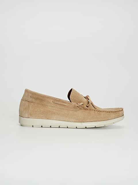 Erkek Süet Görünümlü Loafer Ayakkabı - LC WAIKIKI