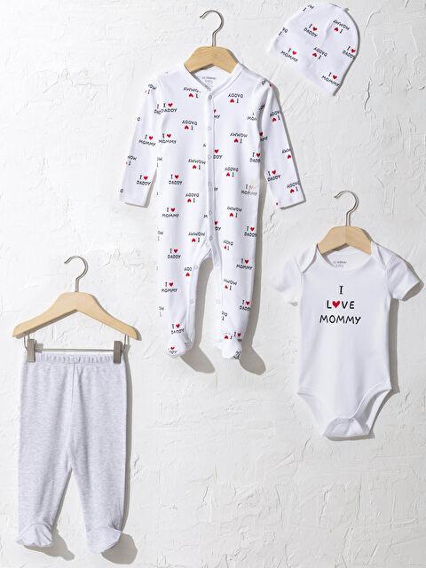 Kız Bebek Hastane Çıkış Seti - LC WAIKIKI