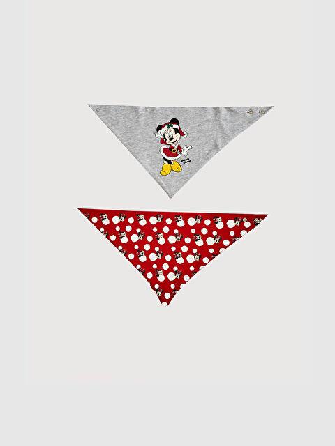 Kız Bebek Mickey Mouse Mama Önlüğü 2'li - LC WAIKIKI