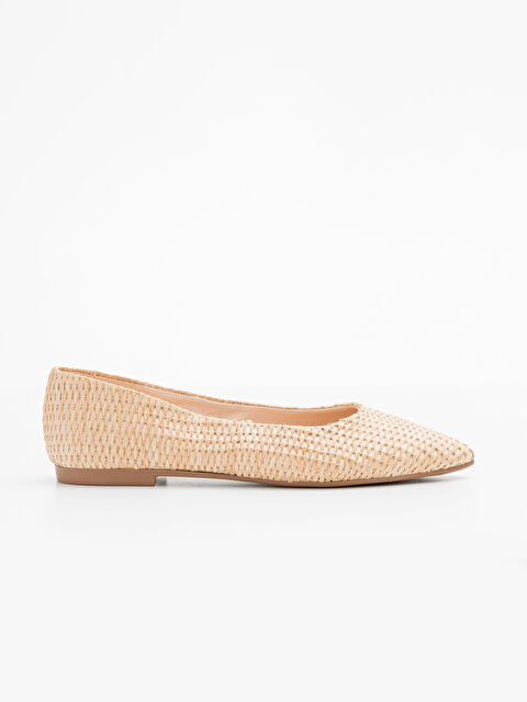 Kadın Desenli Babet Ayakkabı - LC WAIKIKI