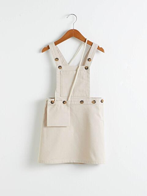 Kız Çocuk Salopet Elbise - LC WAIKIKI