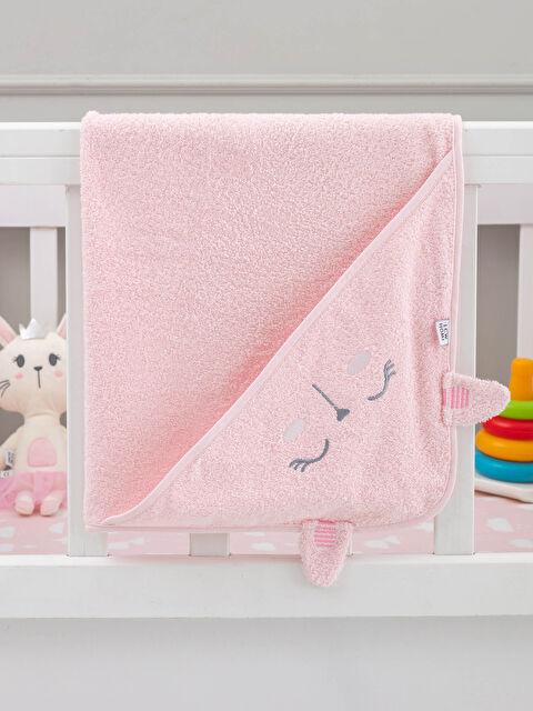 Bebek Nakışlı Banyo Havlusu - LCW HOME