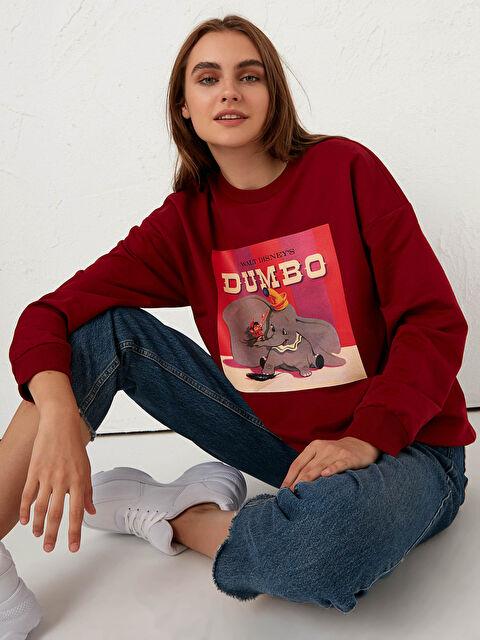 Dumbo Baskılı Sweatshirt - LC WAIKIKI