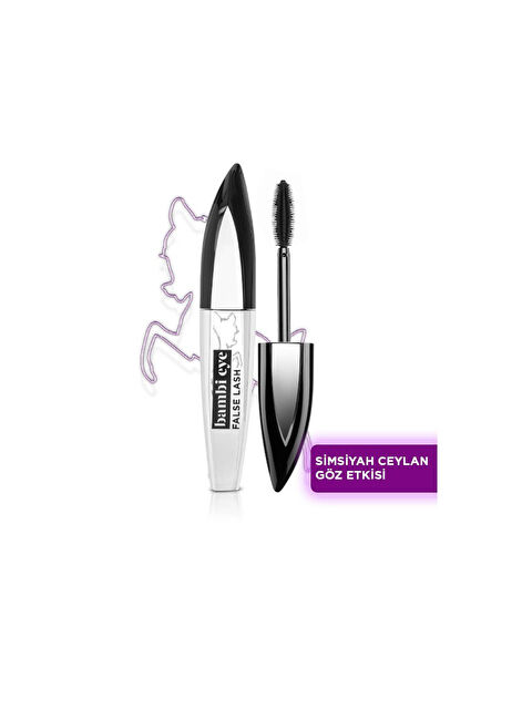 L'Oréal Paris Bambi Eye Extra Black Ceylan Göz Etkili Maskara - Ekstra Siyah - Markalar