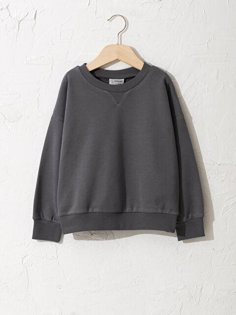 Kız Çocuk Basic Sweatshirt - LC WAIKIKI