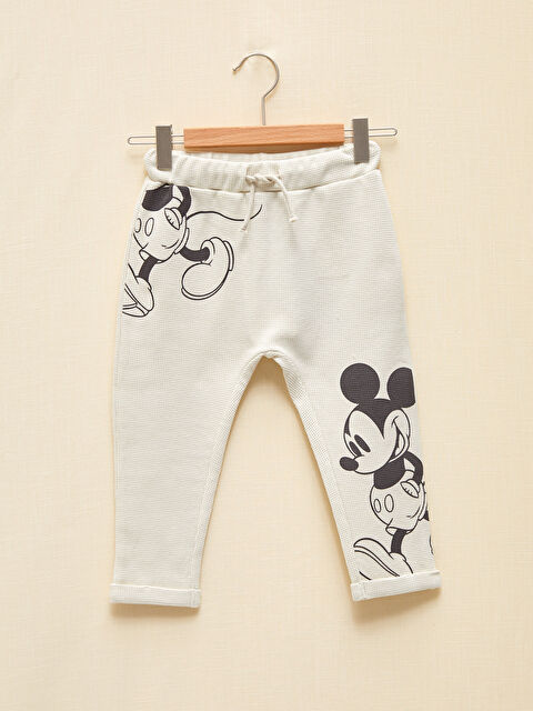 Erkek Bebek Organik Pamuklu Mickey Mouse Baskılı Eşofman Altı - LC WAIKIKI