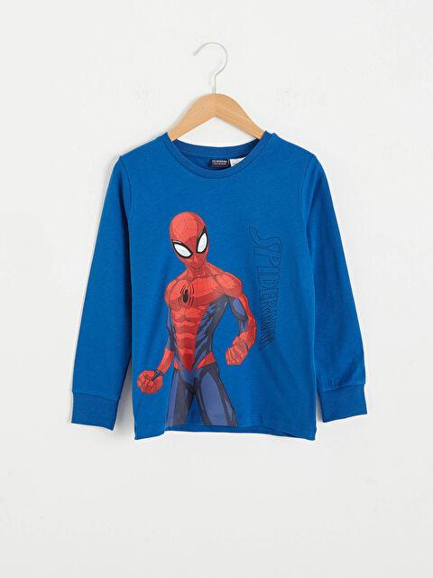 Erkek Çocuk Spiderman Baskılı Tişört - LC WAIKIKI