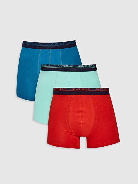 3-pack Stretch Fabric Standard Fit Boxers - LC WAIKIKI