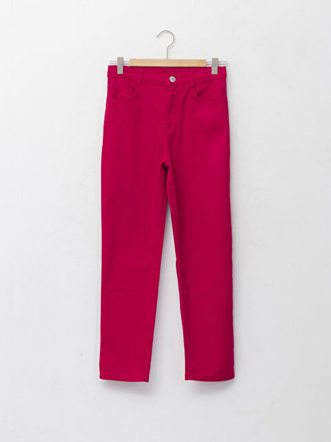 Basic Gabardine Girl Trousers - LC WAIKIKI