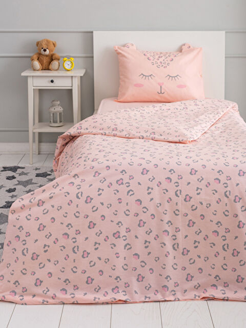 Printed Woven Girls' Duvet Cover Set - LCW HOME