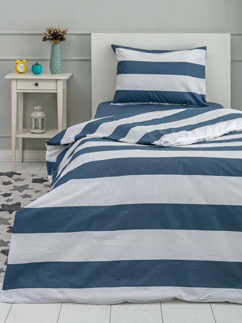 Striped Woven Girl Duvet Cover  Set - LCW HOME