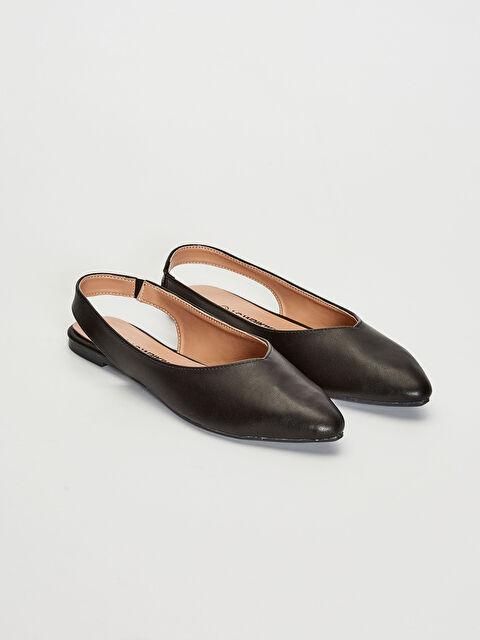 Women's Bright Looking Flat Shoes - LC WAIKIKI