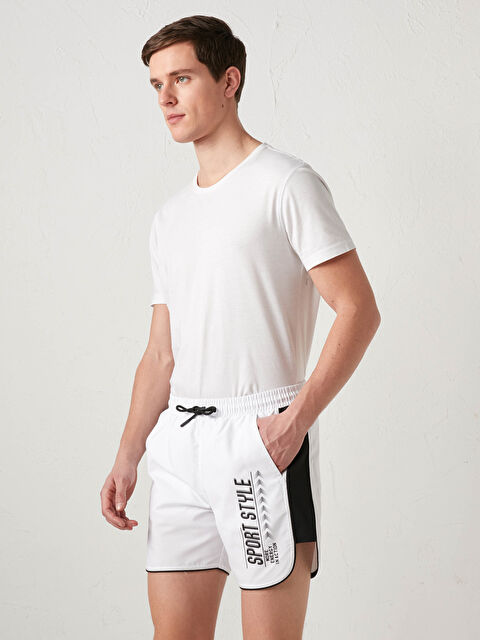 Printed Short Standard Fit Swim Trunk - LC WAIKIKI