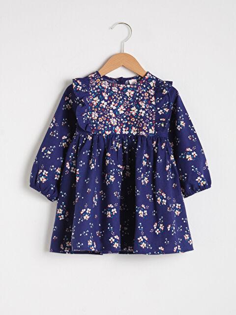 Kız Bebek Baskılı Elbise - LC WAIKIKI