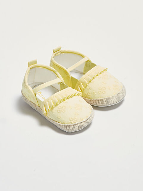 Baby Girl Pre-Frilly House Shoes - LC WAIKIKI