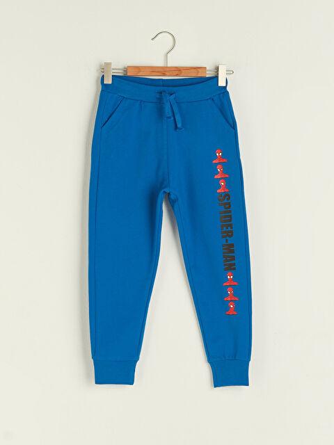Elastic Waist Spiderman Printed Boy Jogger Sweatpants - LC WAIKIKI