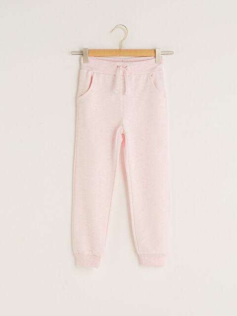 Elastic Waist Girl Jogger Sweatpants - LC WAIKIKI