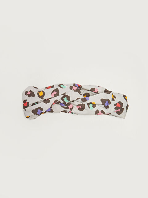 Patterned Cotton Baby Girl Headband - LC WAIKIKI