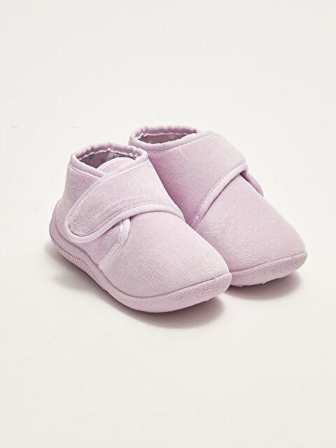 Velcro Closure Baby Girl Panduf - LC WAIKIKI