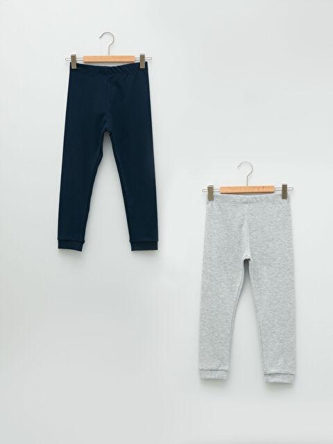 Basic Elastic Waist Boy Underwear 2 Pair - LC WAIKIKI