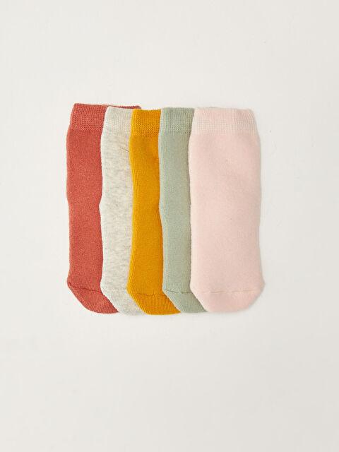 Basic Baby Girl Socks 5 Pieces - LC WAIKIKI