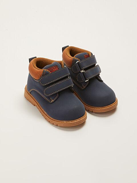 Velcro Closure Baby Boy Boots - LC WAIKIKI