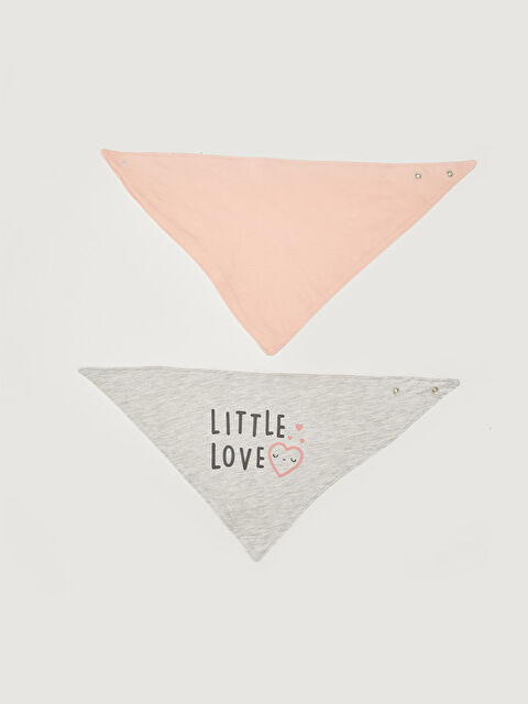 2-pack Baby Girl's Bib - LC WAIKIKI