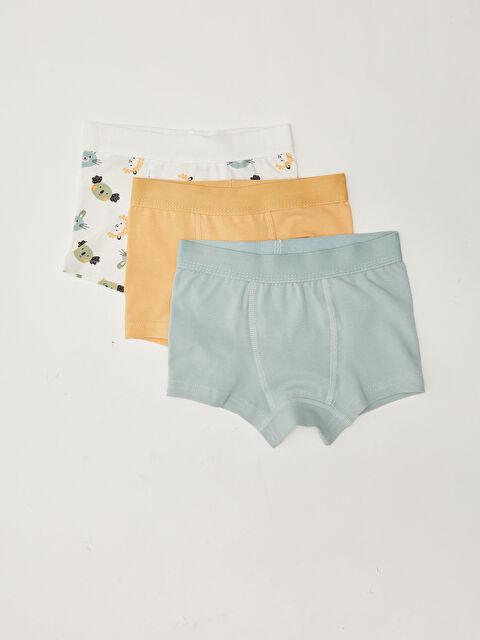 Cotton Baby Boy Boxer 3 Pieces - LC WAIKIKI