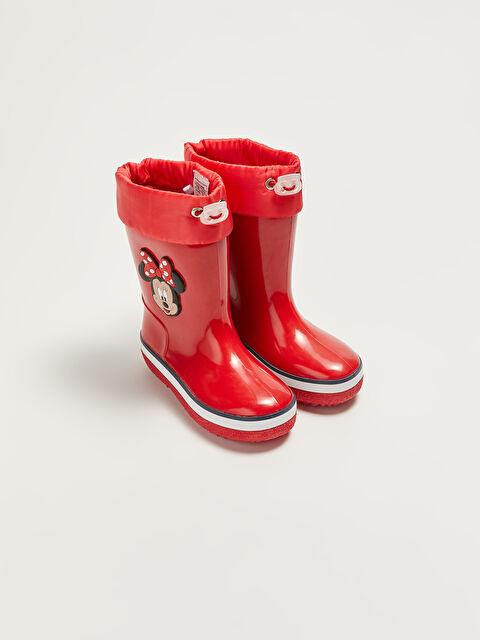 Minnie Mouse Licensed Baby Girl Rain Boot - LC WAIKIKI