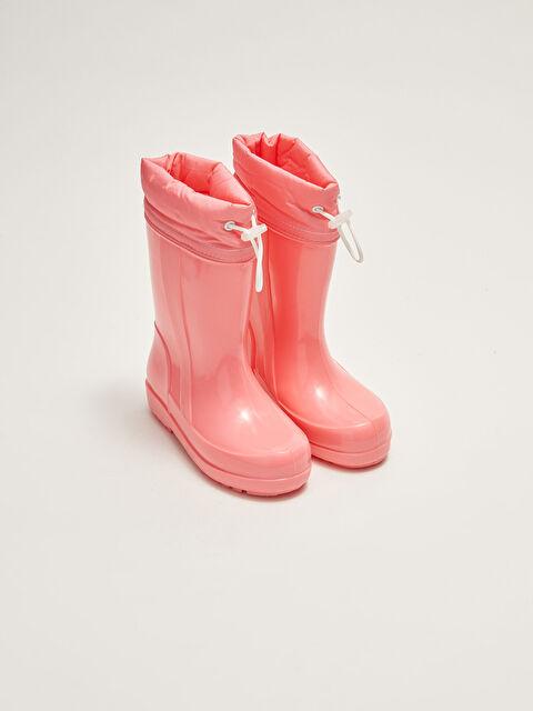 Warm Lined Girls Rain Boots - LC WAIKIKI